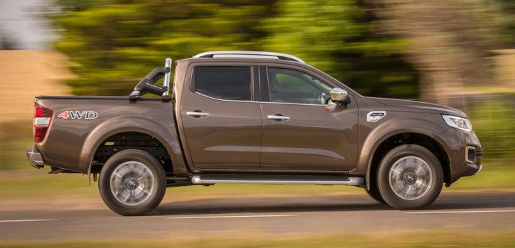 Renault realizó su lanzamiento comercial de la nueva pick-up Alaskan